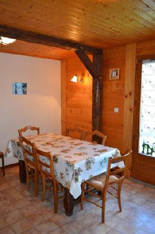 Rent in ski resort Chalet Grillet Charles - Châtel - Table