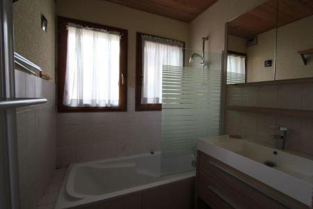 Rent in ski resort 2 room apartment sleeping corner 5 people (1) - Chalet l'Igloo - Châtel - Bath-tub