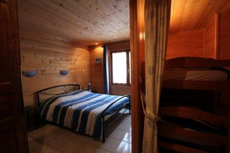 Rent in ski resort 2 room apartment sleeping corner 5 people (1) - Chalet l'Igloo - Châtel - Double bed