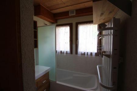 Rent in ski resort 2 room apartment sleeping corner 5 people (2) - Chalet l'Igloo - Châtel - Bath-tub