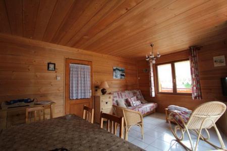 Rent in ski resort 2 room apartment sleeping corner 5 people (2) - Chalet l'Igloo - Châtel - Living room