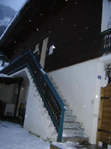 Vacances en montagne Appartement duplex 3 pièces 6 personnes - Chalet la Galettière - Châtel - Extérieur hiver