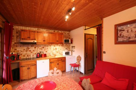Rent in ski resort 2 room apartment sleeping corner 5 people - Chalet la Minaudière - Châtel - Winter outside