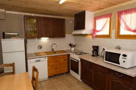 Location au ski Appartement 3 pièces 6 personnes - Chalet le Marmouset - Châtel - Kitchenette