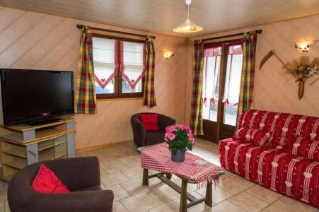 Location au ski Appartement 3 pièces 6 personnes - Chalet le Marmouset - Châtel - Séjour