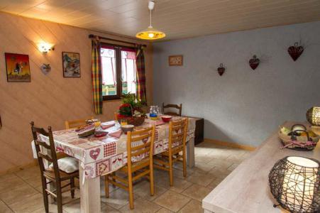 Location au ski Appartement 3 pièces 6 personnes - Chalet le Marmouset - Châtel - Table