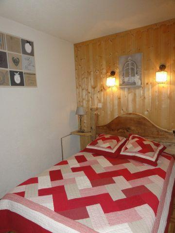 Rent in ski resort 2 room apartment 4 people - Chalet le Vieux Four - Châtel - Double bed