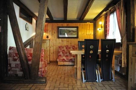 Rent in ski resort 2 room apartment 4 people - Chalet le Vieux Four - Châtel - Living room