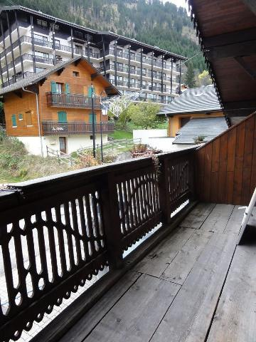 Rent in ski resort 3 room apartment 7 people (1) - Chalet le Vieux Four - Châtel - Balcony