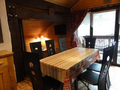 Rent in ski resort 3 room apartment 7 people (1) - Chalet le Vieux Four - Châtel - Table