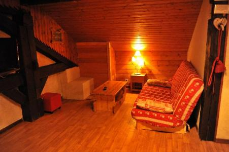 Rent in ski resort 3 room apartment 7 people (2) - Chalet le Vieux Four - Châtel - Bed-settee