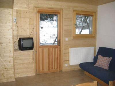 Rent in ski resort 2 room apartment 4 people (5) - Chalet les Bouquetins - Châtel - Living room