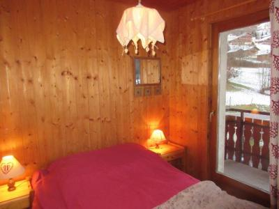 Rent in ski resort 3 room apartment 6 people (1) - Chalet les Bouquetins - Châtel - Double bed
