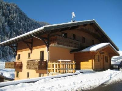 Rent in ski resort Chalet les Bouquetins - Châtel - Winter outside