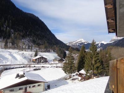 Vacances en montagne Appartement 3 pièces 6 personnes (1) - Chalet les Bouquetins - Châtel - Extérieur hiver