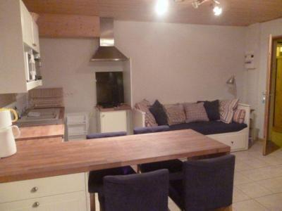 Rent in ski resort Studio 3 people - Chalet les Bouquetins - Châtel - Living room