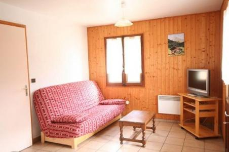 Rent in ski resort 3 room apartment 6 people - Chalet les Chablis - Châtel - Living room