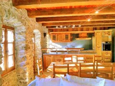 Location au ski Chalet 5 pièces 10 personnes - Chalet Petit Chatel - Chatel - Table