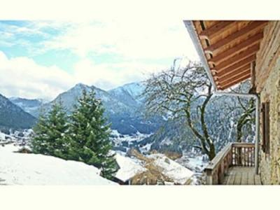 Location au ski Chalet 5 pièces 10 personnes - Chalet Petit Chatel - Chatel - Extérieur hiver
