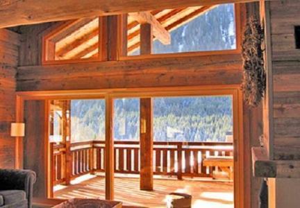 Location au ski Chalet Philippe - Chatel - Fenêtre