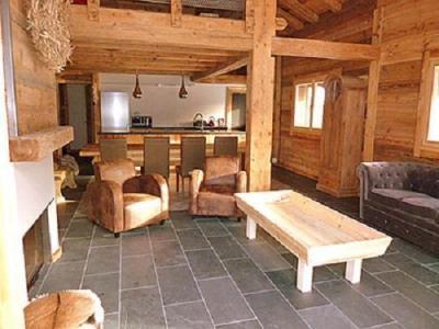 Location au ski Chalet Philippe - Chatel - Séjour