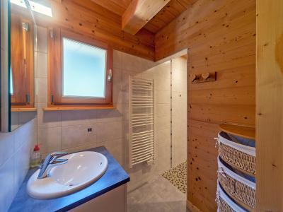 Location au ski Chalet Ramoneur Savoyard - Châtel - Salle d'eau
