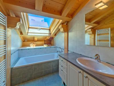 Location au ski Chalet Ramoneur Savoyard - Châtel - Salle de bains