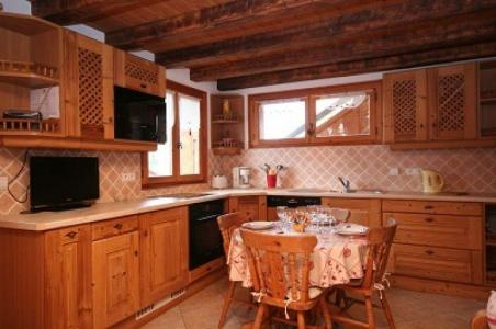 Rent in ski resort Chalet Vuarand Franck - Châtel - Kitchenette