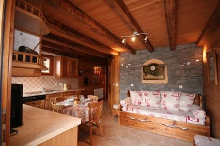 Rent in ski resort Chalet Vuarand Franck - Châtel - Living room