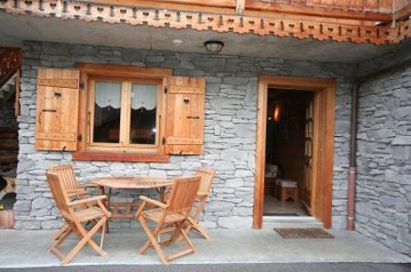 Rent in ski resort Chalet Vuarand Franck - Châtel - Terrace