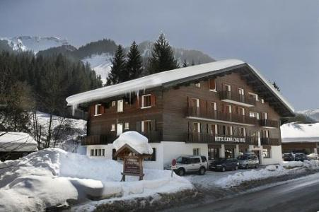 Location au ski Hotel Eliova L'eau Vive - Chatel - Extérieur hiver