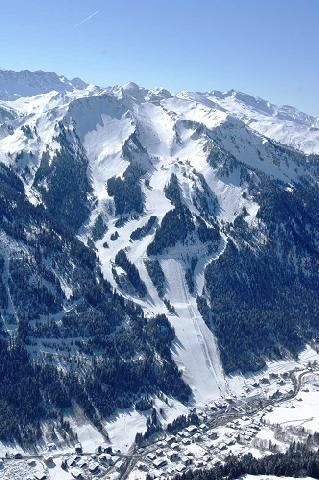 Location au ski Hotel Eliova L'eau Vive - Chatel - Plan