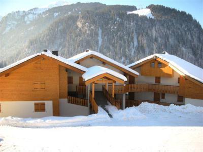 Location au ski Les Balcons de Châtel - Châtel - Extérieur hiver