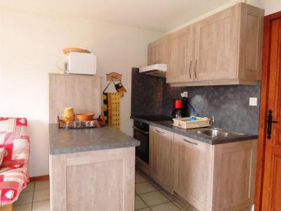 Location au ski Appartement 3 pièces 6 personnes (BBC5) - Les Chalets de Barbessine - Châtel - Kitchenette