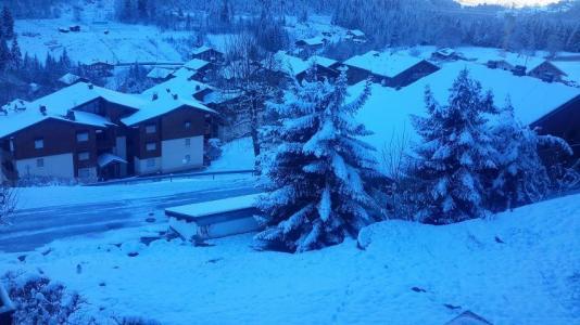 Rent in ski resort Studio sleeping corner 4 people (16) - Résidence Croix de Savoie - Châtel - Winter outside