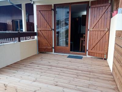 Location au ski Studio coin montagne 5 personnes (A25) - Résidence des Gentianes - Châtel - Terrasse