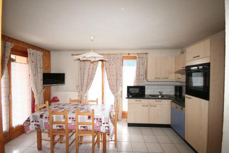 Rent in ski resort 3 room apartment 6 people (3) - Résidence Echo des Montagnes - Châtel - Living room