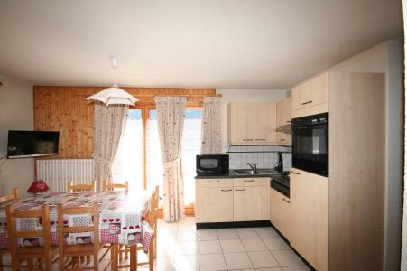 Rent in ski resort 3 room apartment 6 people (6) - Résidence Echo des Montagnes - Châtel - Kitchenette