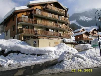 Rent in ski resort 3 room apartment 6 people (17) - Résidence Fuchsia - Châtel - Winter outside