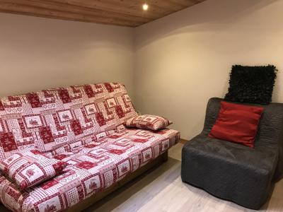 Rent in ski resort 3 room duplex apartment 6 people (021A) - Résidence Hameau des Quatre Saisons - Châtel - Bed-settee