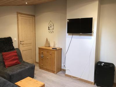 Rent in ski resort 3 room duplex apartment 6 people (021A) - Résidence Hameau des Quatre Saisons - Châtel - Living room