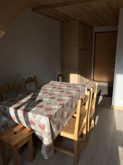 Rent in ski resort 3 room duplex apartment 6 people (021A) - Résidence Hameau des Quatre Saisons - Châtel - Table