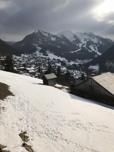 Location au ski Appartement duplex 3 pièces 6 personnes (021A) - Résidence Hameau des Quatre Saisons - Châtel - Extérieur hiver