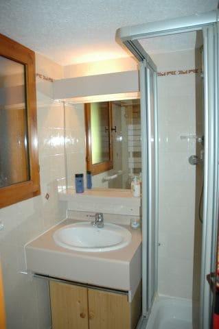Location au ski Appartement 2 pièces cabine 4 personnes (6) - Résidence l'Alexandra - Châtel - Lavabo