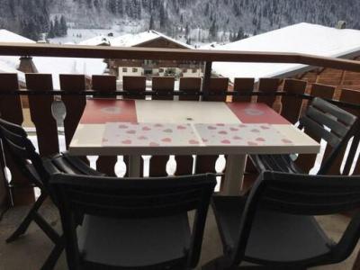 Rent in ski resort Studio mezzanine 3 people (17A) - Résidence la Toison Blanche - Châtel
