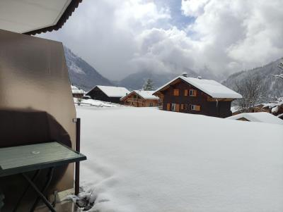 Rent in ski resort Studio 3 people (84A) - Résidence la Tovassière - Châtel