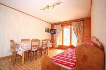 Rent in ski resort 2 room apartment sleeping corner 5 people (1) - Résidence le Balcon des Alpes - Châtel - Bed-settee