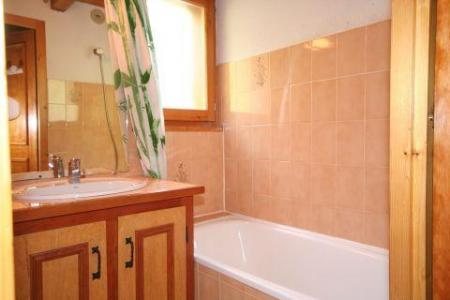Rent in ski resort 3 room duplex apartment 6 people (5) - Résidence le Balcon des Alpes - Châtel - Bath-tub