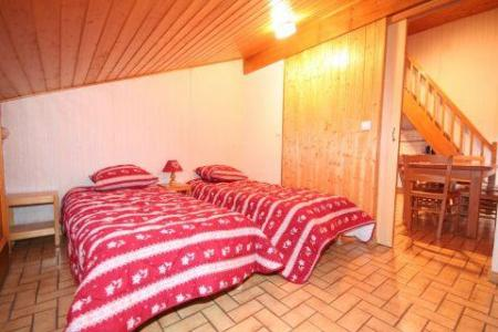 Rent in ski resort 3 room duplex apartment 6 people (5) - Résidence le Balcon des Alpes - Châtel - Single bed