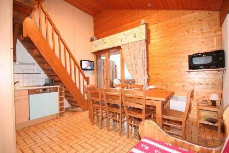 Rent in ski resort 3 room duplex apartment 6 people (5) - Résidence le Balcon des Alpes - Châtel - Stairs